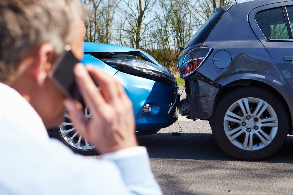 What to do if you're in an accident involving a police car?